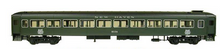 Weaver  New Haven (green)  Pullman Bradley coach, 3  rail