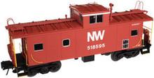 Atlas O N&W Standard Cupola caboose, 3 rail