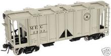 Atlas O Maine Central  ACF 34' Covered Hopper, 3 or 2 rail