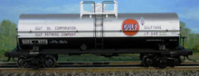 Atlas O Gulf Oil 11,000  gallon tank car, 3 rail or 2 rail