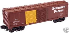 Atlas O Industrial Rail SP  box car, 3 rail, 027
