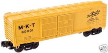 Atlas O Industrial Rail MKT  box car, 3 rail, 027