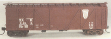 Weaver Bangor and Aroostook 40' outside braced wood box car, 3 rail or 2 rail