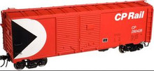 Atlas O CP Rail AAR 40' double door box car, 3  or 2 rail