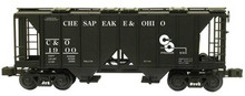 Weaver C&O 34' ACF AC-2 covered hopper car, 2 or 3 rail