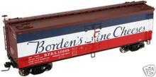 Atlas O Bordens cheese 40' reefer, 3 rail or 2 rail