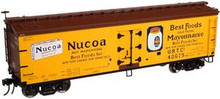 Atlas O Best Foods (Nucoa) 40' wood reefer, 3 rail or 2 rail