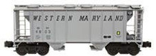 Weaver WM PS-2 covered hopper car, 3 rail or 2 rail