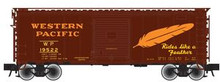 Atlas O PDT exclusive WP  40' steel box car,  3 rail or 2 rail