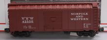 Atlas (Petersen) N&W 40' (1950's era)  box car,  3 rail