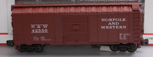 Atlas (Roco/Petersen) N&W 40' (1950's era)  box car,  3 rail