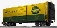 Weaver Rutland  40' PS-1 box car, 3 rail or 2 rail
