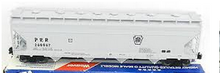 Weaver PRR 50' ACF centerflow covered hopper, 2 or 3 rail