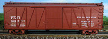 Atlas O Special run Philadelphia and Reading 40' single sheathed (wood) box car, 3 or 2 rail