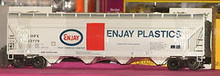 Weaver Enjay Chemical 50' covered hopper, 2 or 3 rail