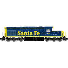 Pre-Order Atlas O Santa Fe Alco RSD-15, Blue/Yellow Low Hood