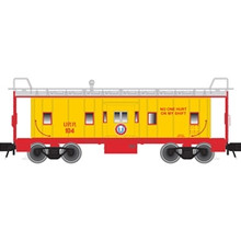 Atlas O UNION RAILROAD Bay Window Caboose, 3 rail