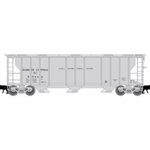 Atlas O ILLINOIS CENTRAL 40' 3 Bay PS-2 Covered Hopper