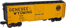 Atlas O Genesee & Wyoming 1937-Style 40' Single Door Box Car