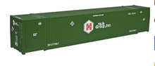 Atlas O  Hub group (green) 53' container