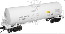 Atlas O DOW chemical 17,600 gal tank car, 2 rail or 3 rail