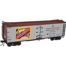 Atlas O ALT-BRAU BEER 40' Wood Reefer