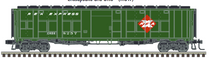 Pre-order for Atlas O REA (1960's)  Baggage/express converted troop car, 3 rail or 2 rail