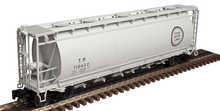 Atlas O T&P  Cylindrical Covered Hopper, 3 rail or 2 rail