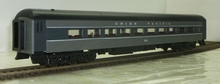 Golden Gate Depot UP (2 tone gray) modernized heavyweight passenger coach, 3 or 2 rail