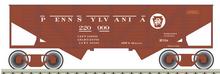 Atlas O PRR  2 Bay Wartime Composite Hopper, 3 rail