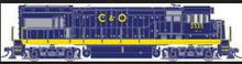 Atlas O C&O U-23b, 2rail DC