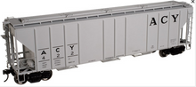 Atlas O ACY PS4427 50' Covered Hopper, 3 rail or 2 rail