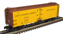 Atlas O  Special Run fruit growers express  40'  steel reefer, 3 rail or 2 rail