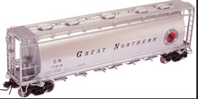 Atlas O GN   Cylindrical Covered  Hopper, 3 rail or 2 rail
