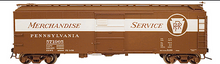 Atlas O PRR  X-29  Mdse Service  40' box car, 3 rail or 2 rail