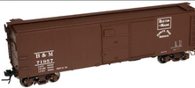 Atlas O B&M  1923 ARA X-29 style   40' box car, 3 rail or 2 rail