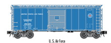 Atlas O (trainman) US Air Force 40' Steel Box car, 3 rail or 2 rail