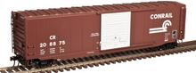 Atlas O Conrail 50' PS-1 single door modernized  box car,  3 rail or 2 rail