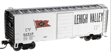 Atlas O (trainman) LV 40' Steel Box car, 3 rail or 2 rail