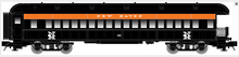 Atlas O 60' NH (black)  Observation Car, 3 rail