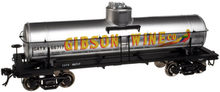 Atlas O Special Run Gibson Wine 8000 gal tank car, 3 or 2 rail