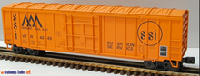 Weaver Vermont rwy  50' plug  door box car, 3 rail or 2 rail