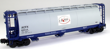 Atlas O Kerr McGee  Cylindrical Covered  Hopper, 3 rail or 2 rail