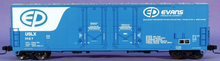 Atlas O Evans Products 53' double plug door box car