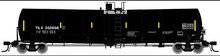 pre-order for Atlas O Trinity Leasing (TILX) Veg Oil 25,500 gal tank car, 2 rail or 3 rail