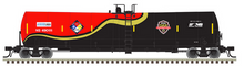 Atlas O NS 1st responders  25,500 gal tank car, 2 rail or 3 rail