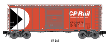 Atlas O (trainman) CP rail 40' Steel Box car, 3 rail or 2 rail