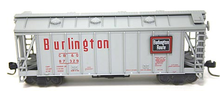 Atlas O Burlington (CB&Q)  Airslide Covered  Hopper, 3 rail or 2 rail
