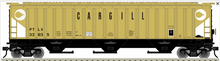 Atlas O (trainman) Cargill (yellow) PS4750 Covered Hopper car