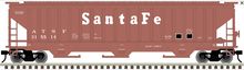 Atlas O (trainman) Santa Fe (tuscan)  PS4750 Covered Hopper car